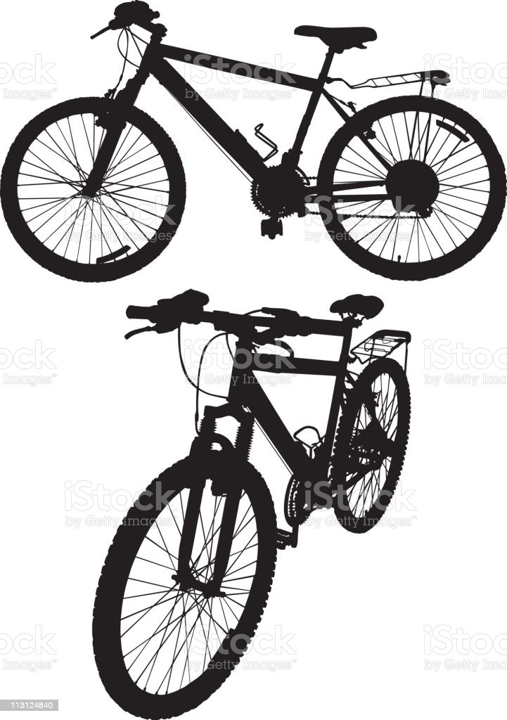 Bicycles (Vector) royalty-free stock vector art