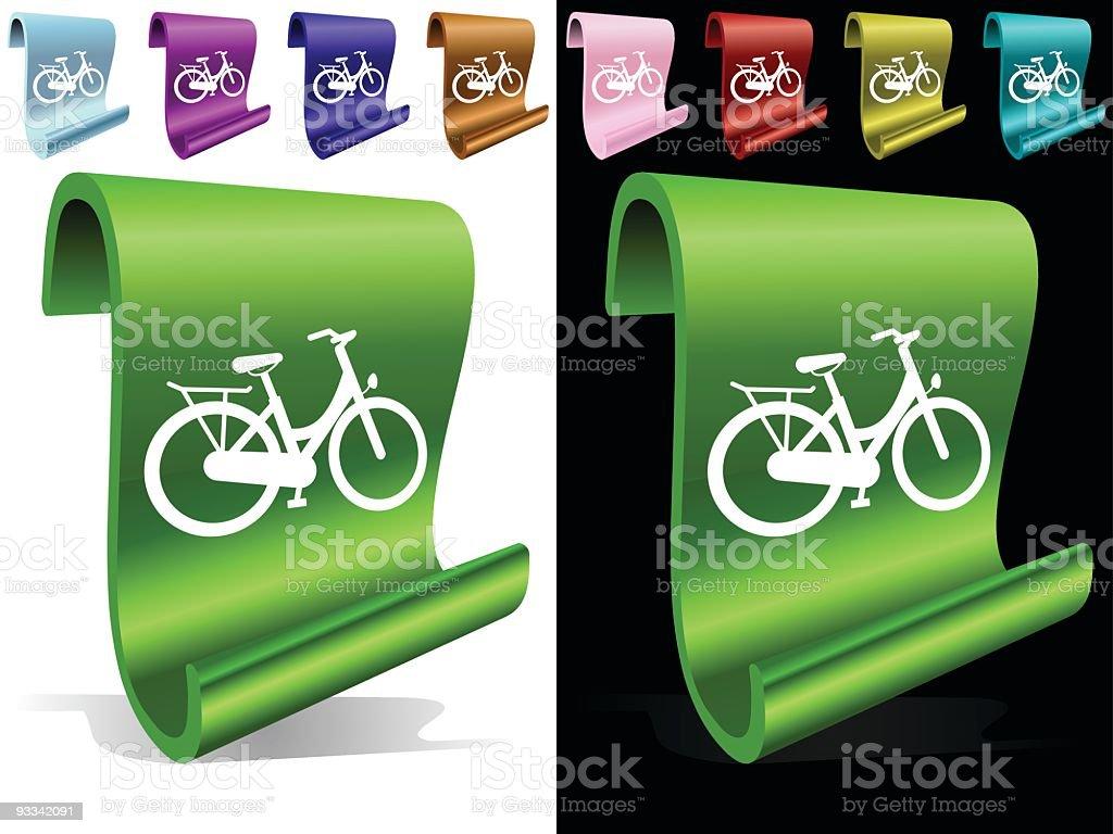 Bicylce royalty-free stock vector art