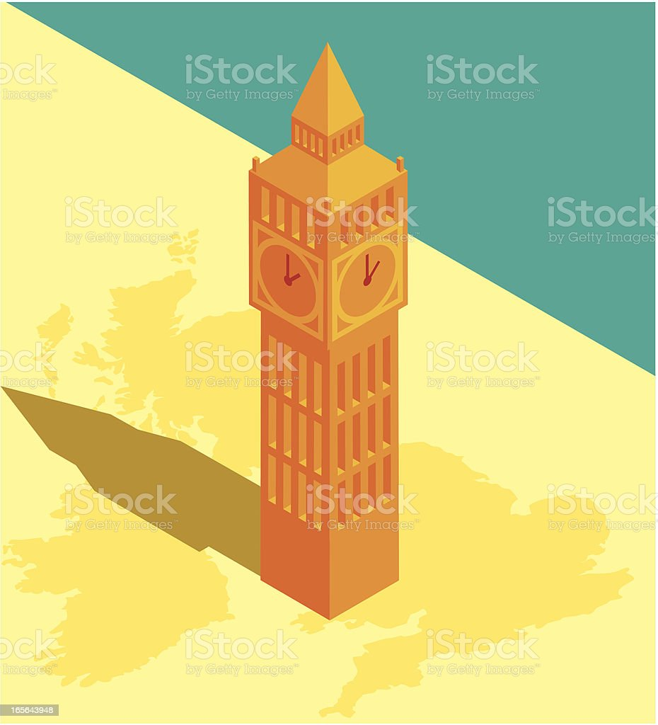 Big Ben royalty-free stock vector art