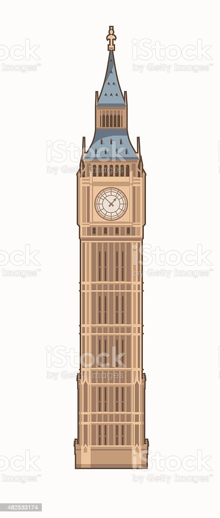 Turmuhr clipart  Turmuhr Vektorgrafiken und Illustrationen - iStock
