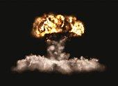 Big Bomb Explosion