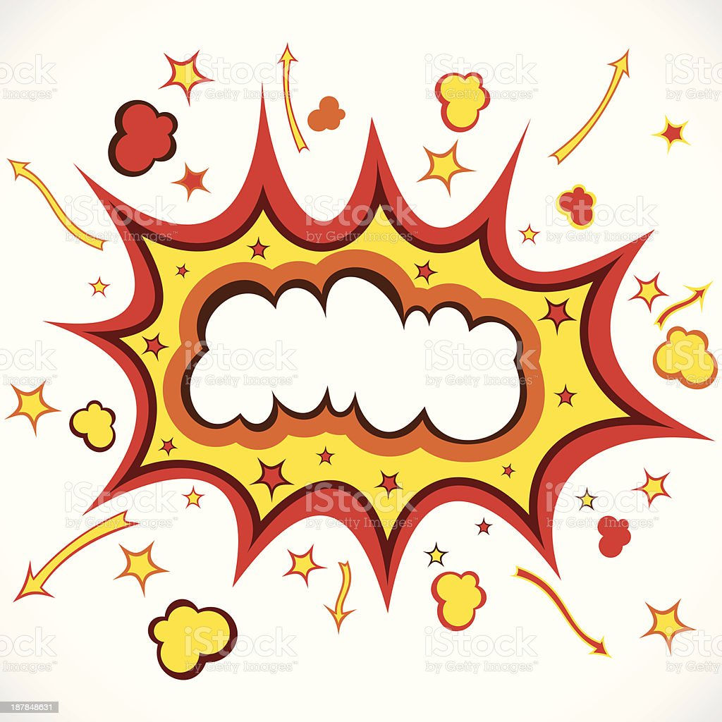 big boom royalty-free stock vector art