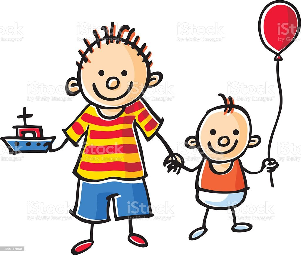 Clip Art Images of Brothers  Clipart Guide
