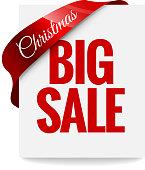 Big Christmas sale. Label
