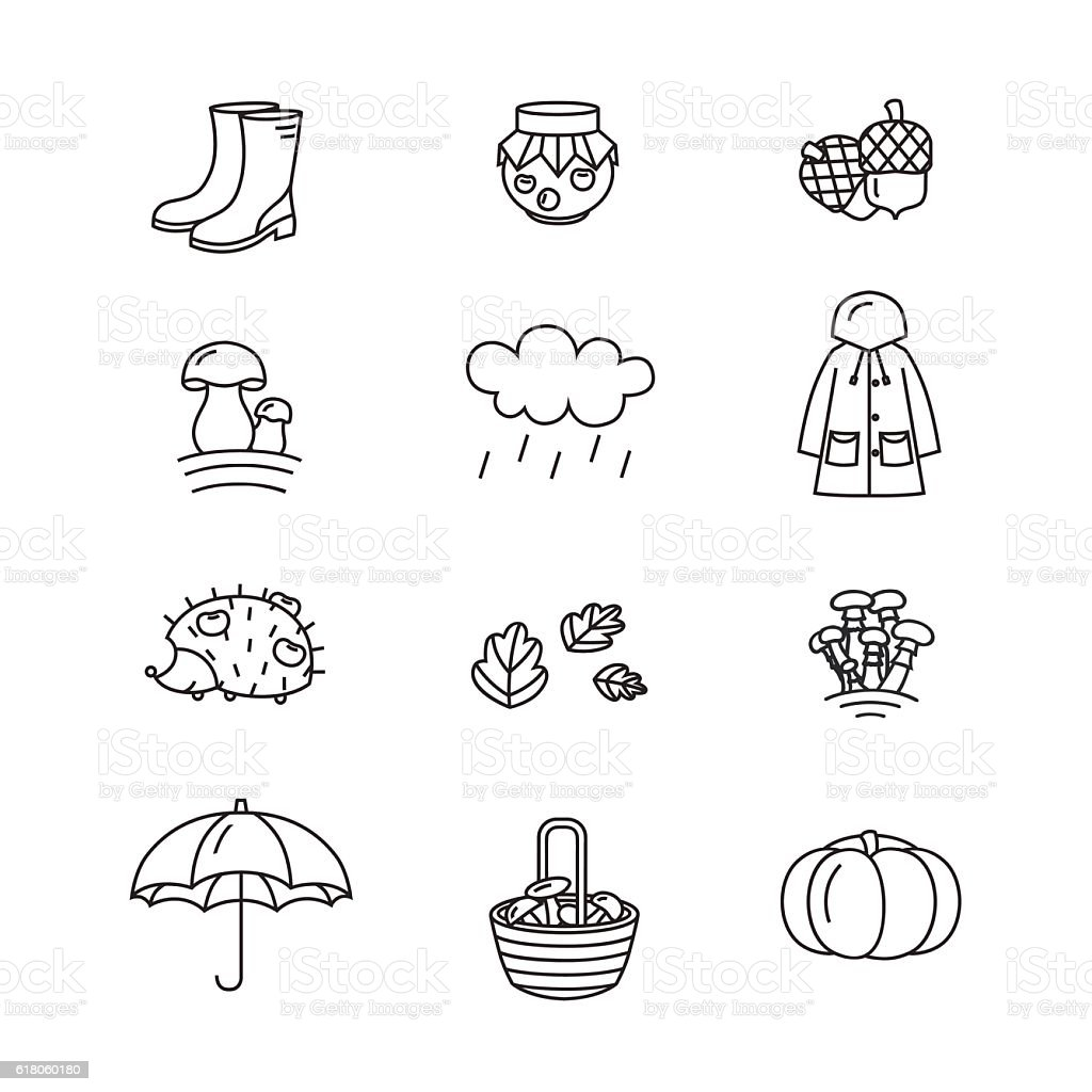 Travel Icons And Landmarks Big Collection. Royalty Free Stock ...