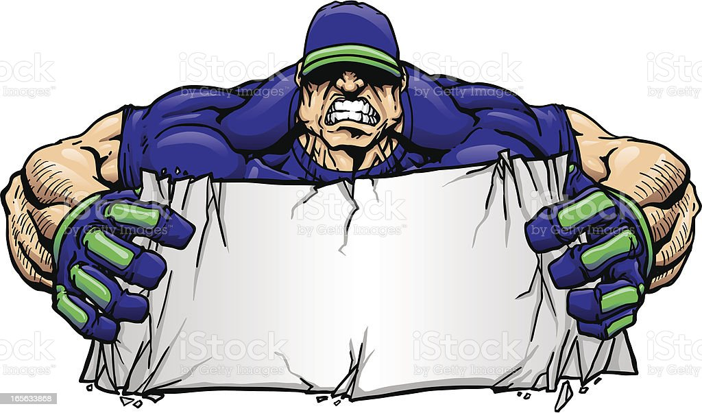 Big Crush Banner vector art illustration