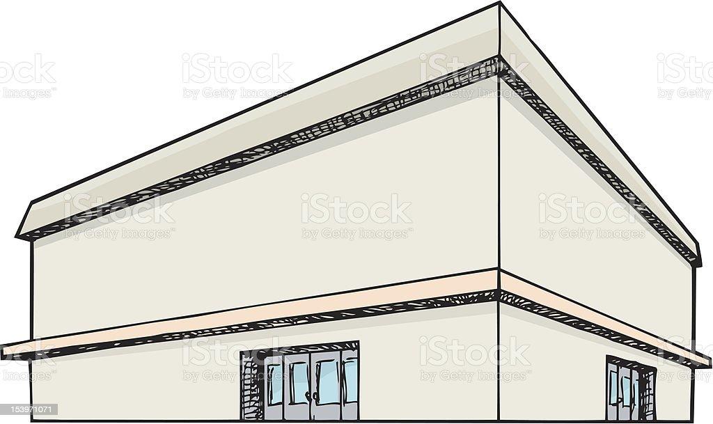 Big Department Store royalty-free stock vector art