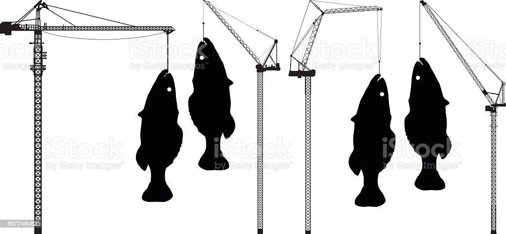 Big Fish vector art illustration