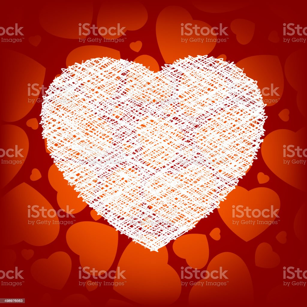Big heart made from scrible heart eps 8 stock vector art 498976563 big heart made from scrible heart eps 8 royalty free stock vector art buycottarizona Image collections