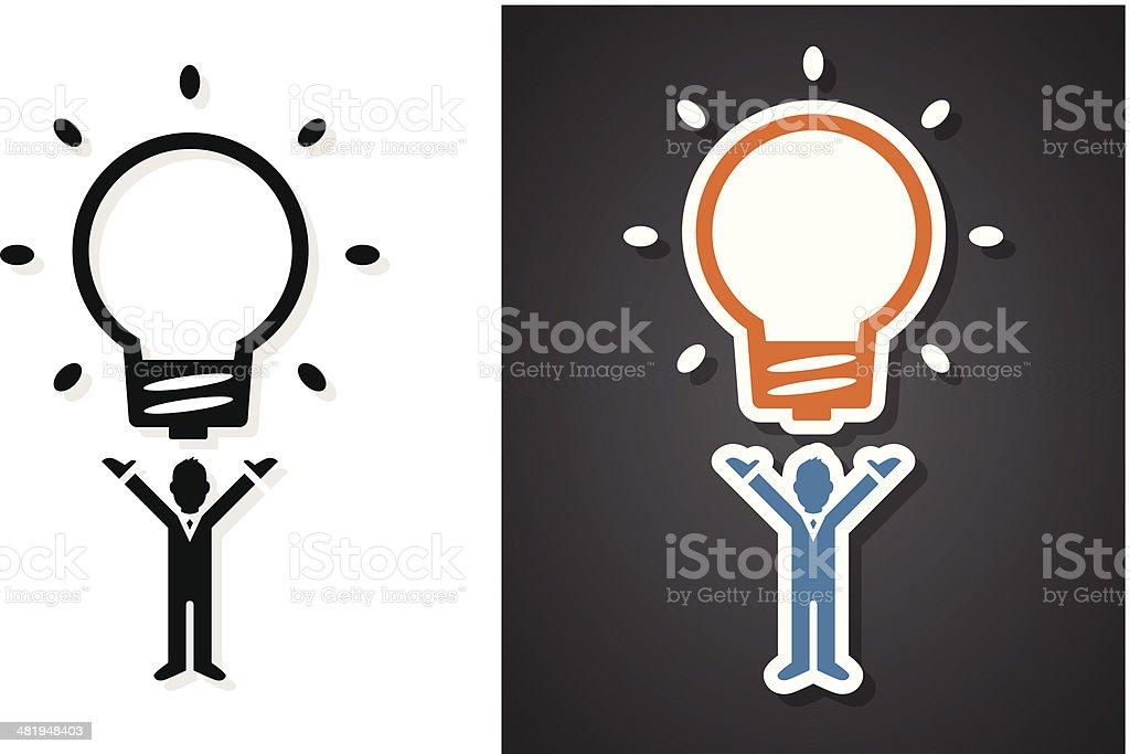 Big idea royalty-free stock vector art