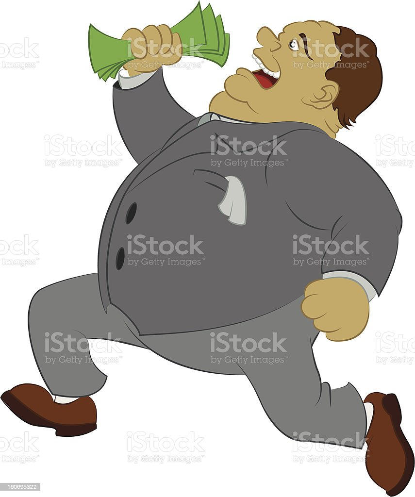 Big money royalty-free stock vector art