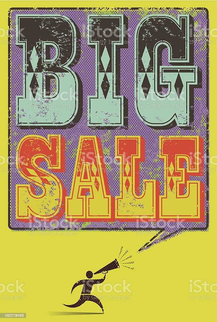 Big Sale royalty-free stock vector art