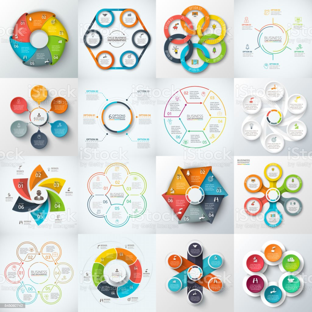 Big set of vector elements for infographic. royalty-free stock vector art