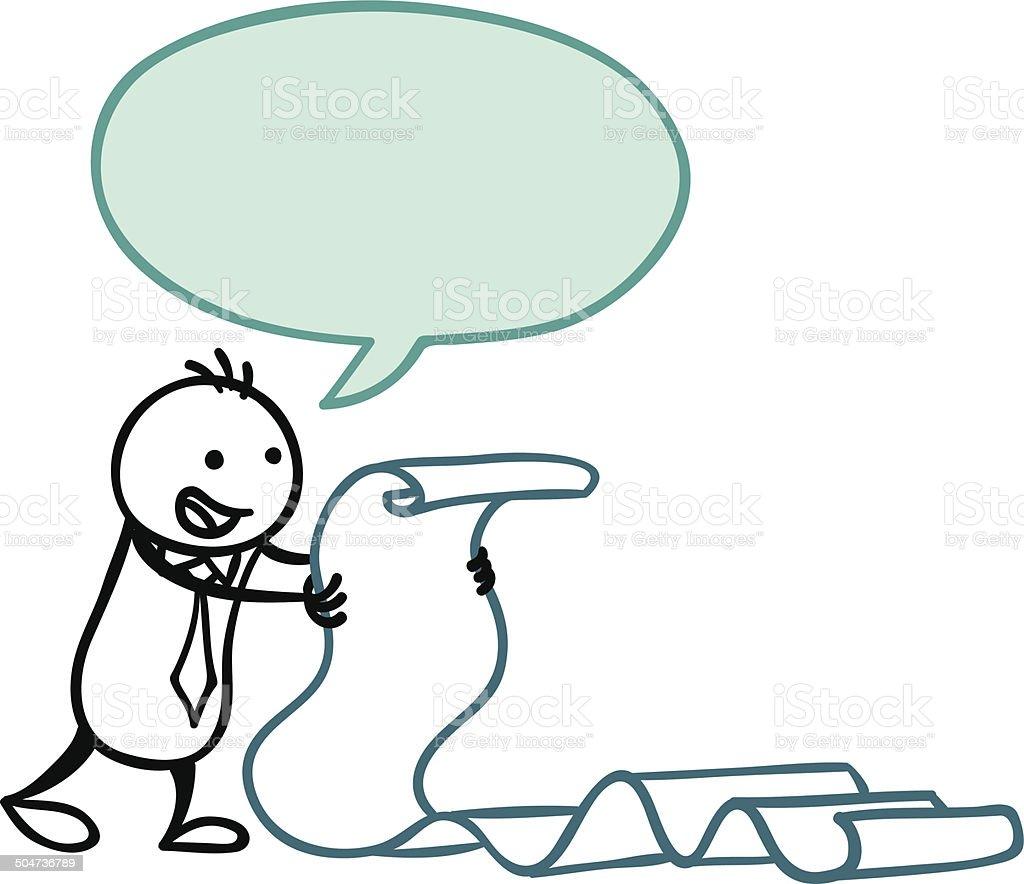 Big Speech vector art illustration