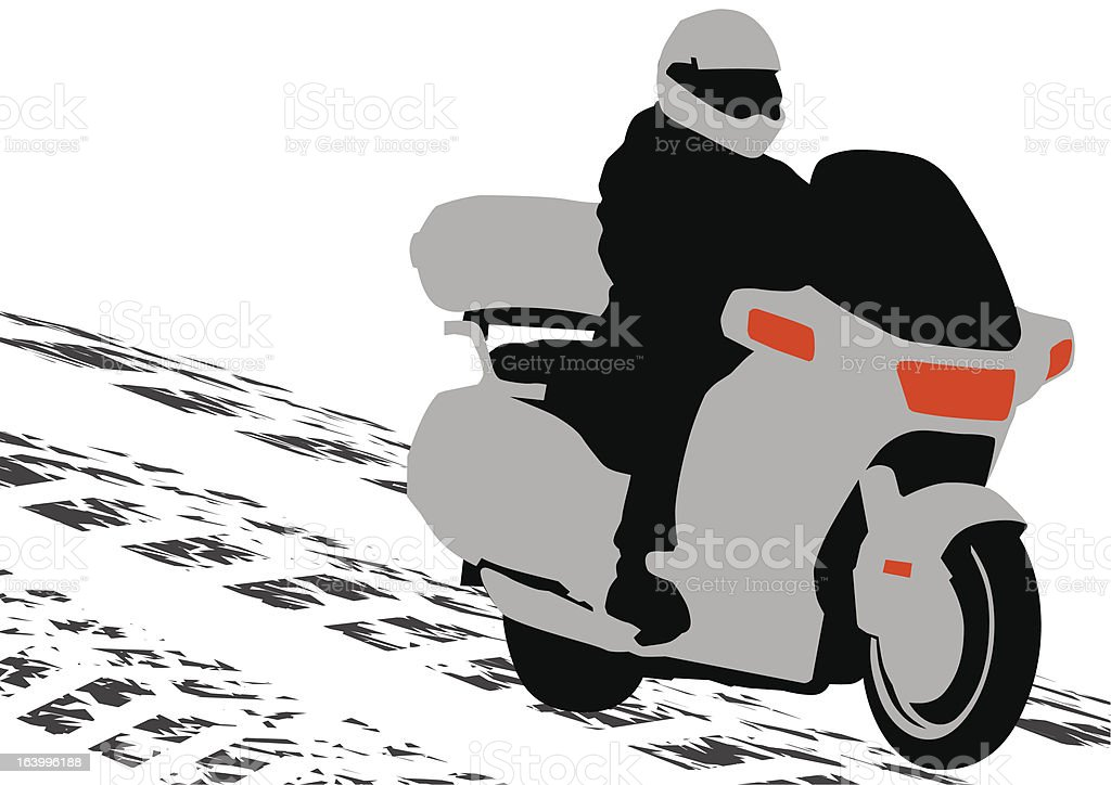 Bike motor royalty-free stock vector art