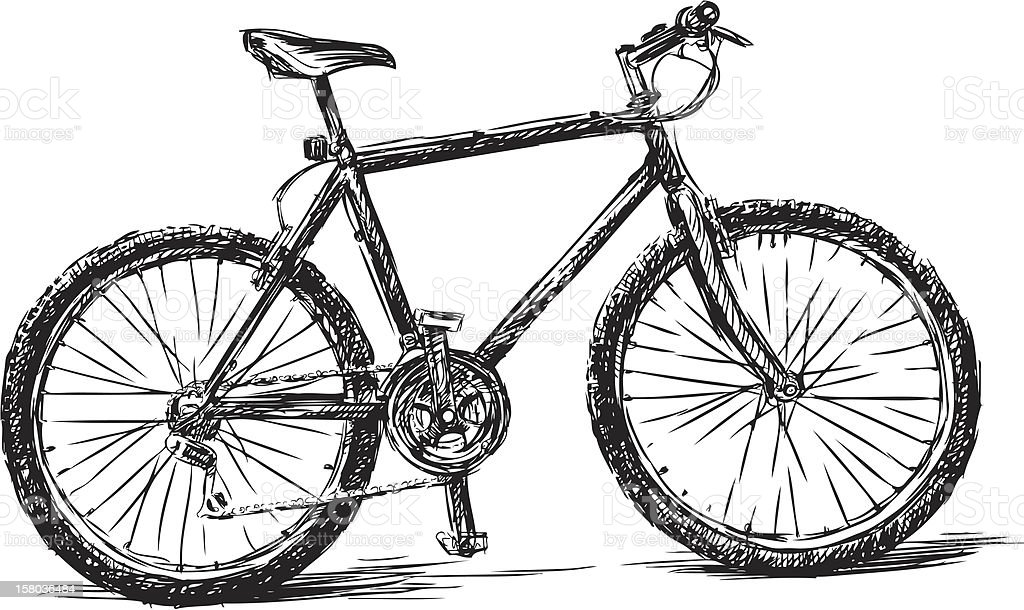 bike royalty-free stock vector art