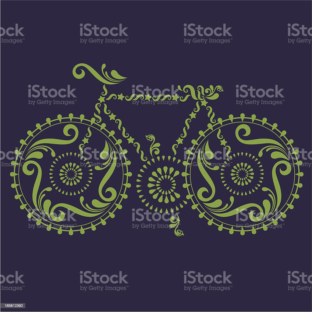 Bike. royalty-free stock vector art