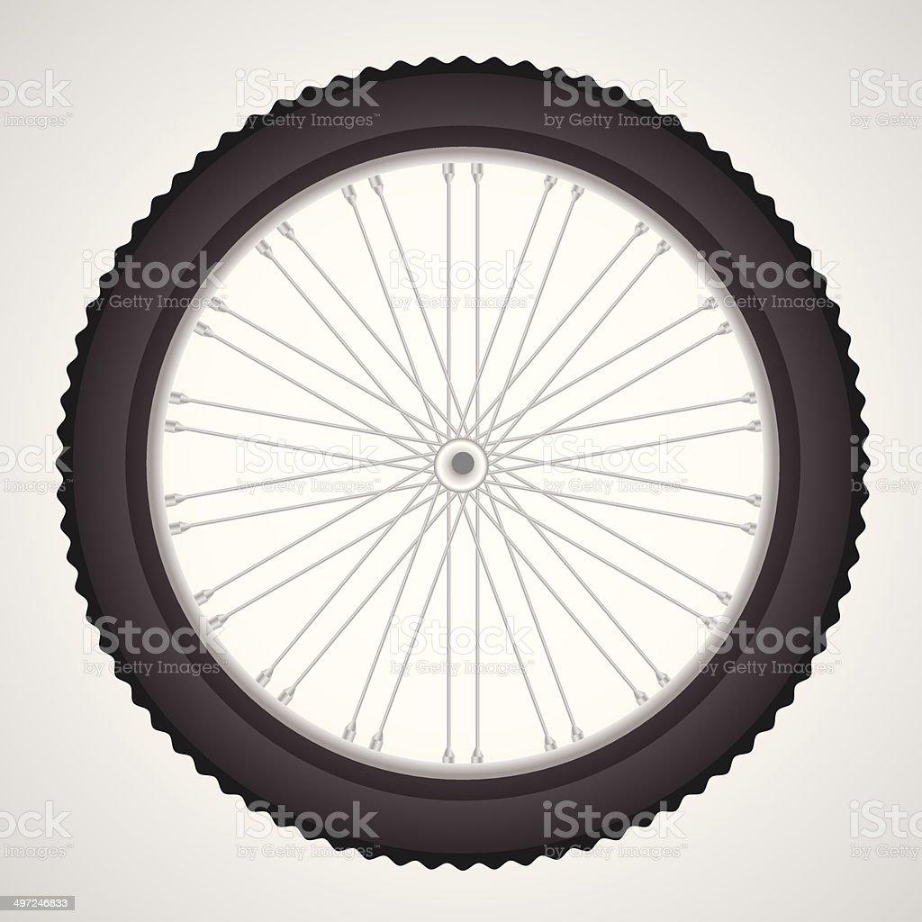bike wheel royalty-free stock vector art