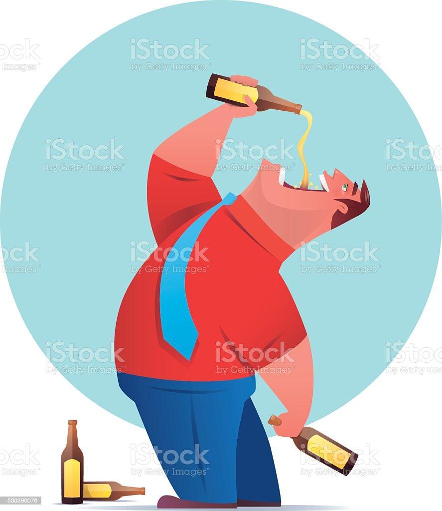 Binge Drinking Alcohol Clip Art