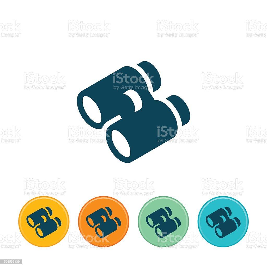 Binoculars Icon royalty-free stock vector art