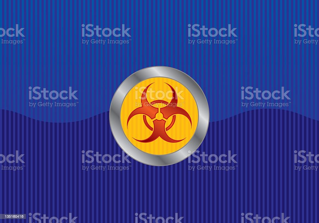 Bio Hazard (vector) royalty-free stock vector art