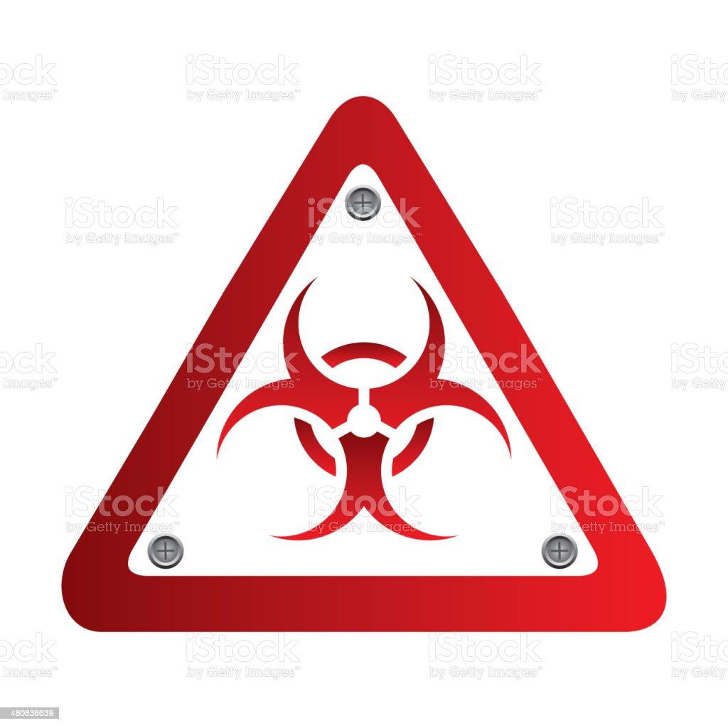 biohazard signal royalty-free stock vector art