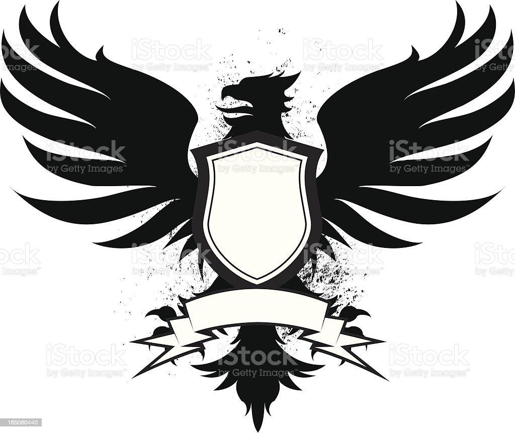 bird banner royalty-free stock vector art