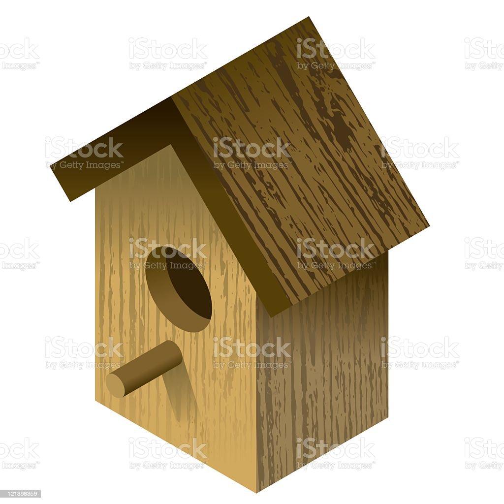 Bird Box royalty-free stock vector art
