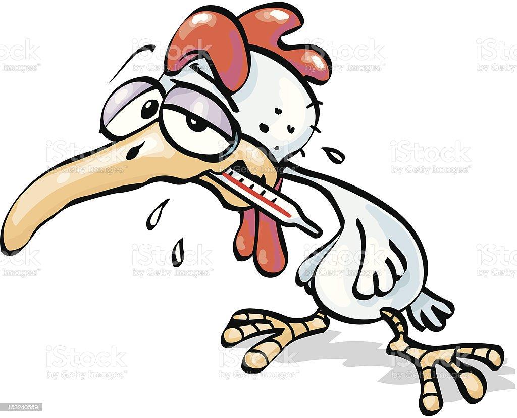 bird flu royalty-free stock vector art