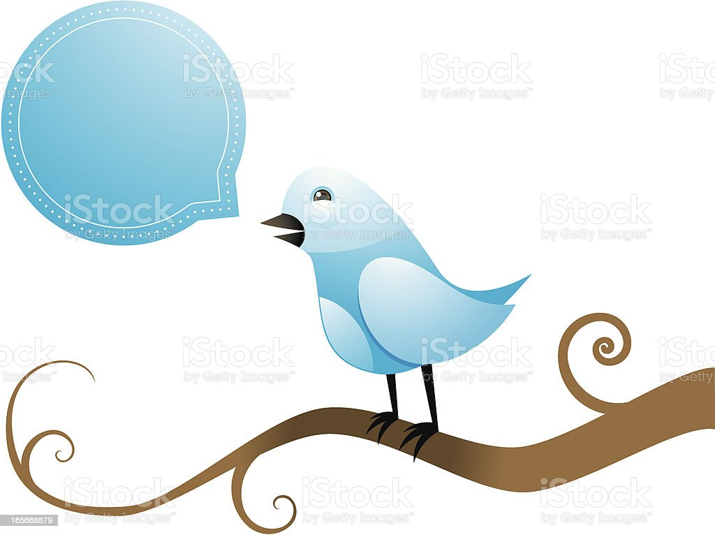 Bird icon royalty-free stock vector art