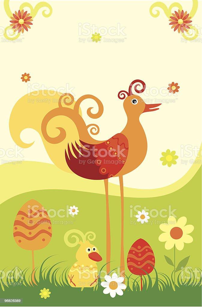 bird royalty-free stock vector art