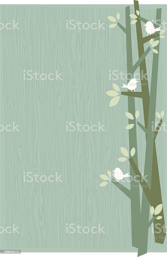 birds background royalty-free stock vector art
