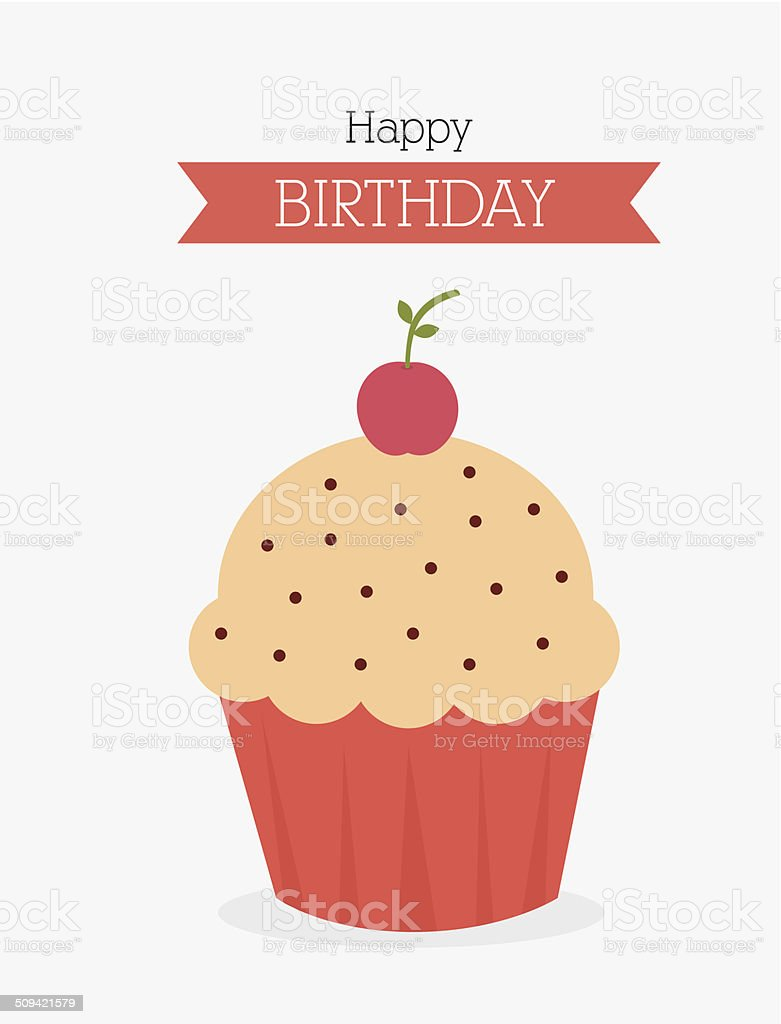 Birthday design vector art illustration