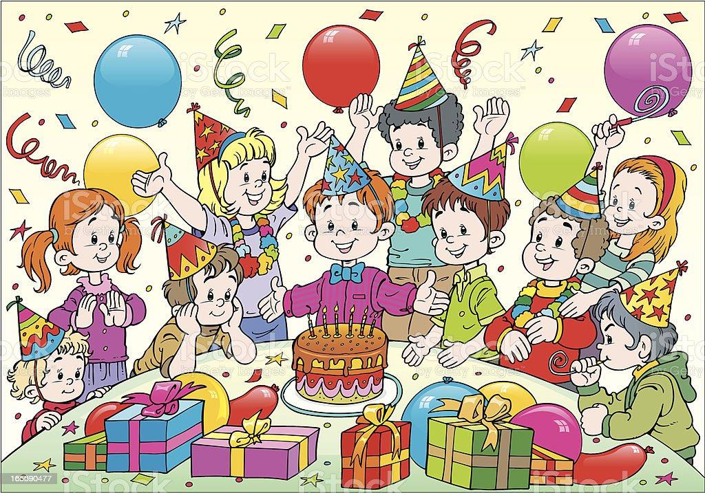 Birthday royalty-free stock vector art
