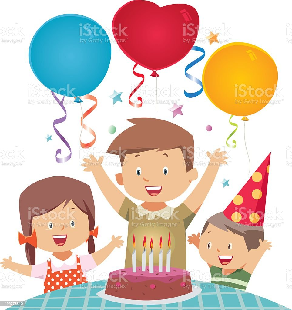 Birthday royalty-free stock vector art