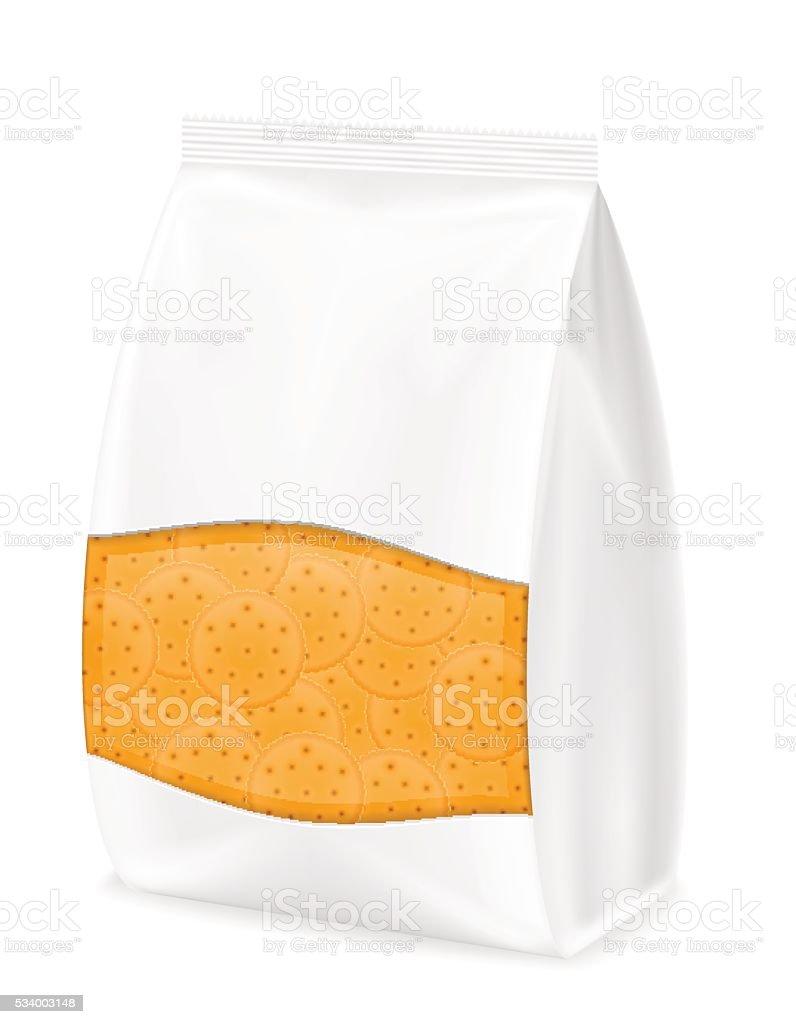 biscuit in packaging vector illustration vector art illustration