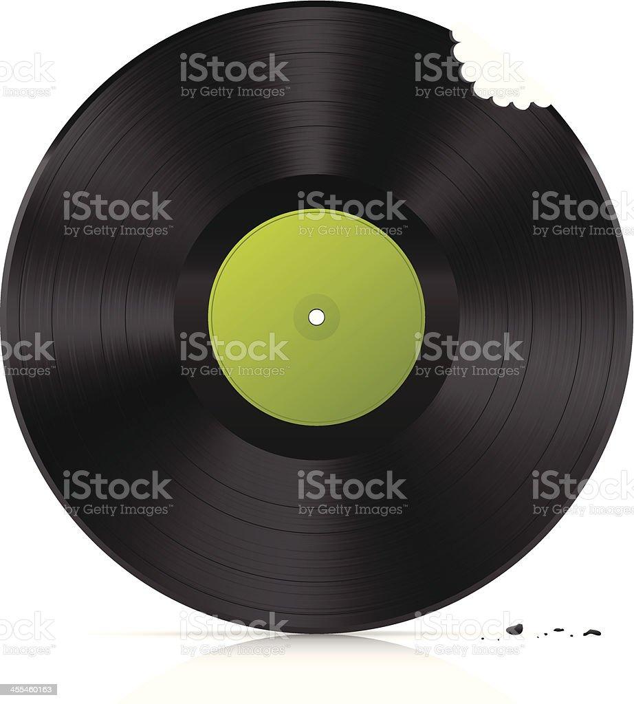 Bite vinyl vector art illustration