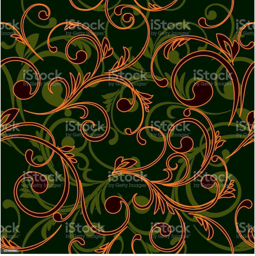 Black abstract seamless royalty-free stock vector art