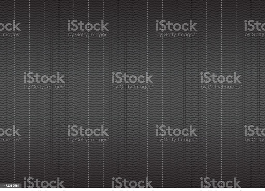 Black and gray pinstripe seamless background vector art illustration