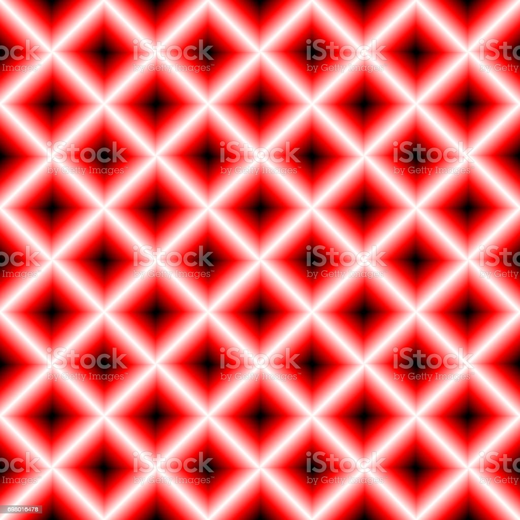 Black and red chessboard, abstract geometric background vector art illustration