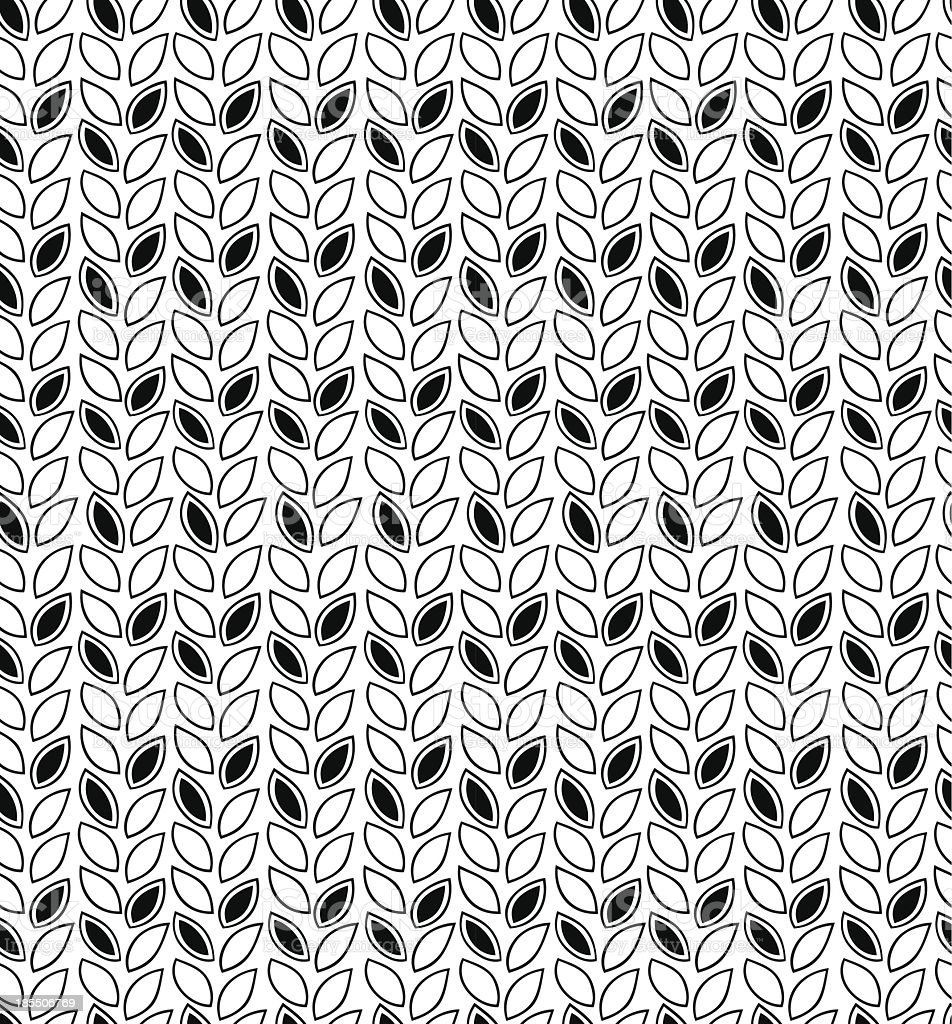 Black and white abstract pattern royalty-free stock vector art