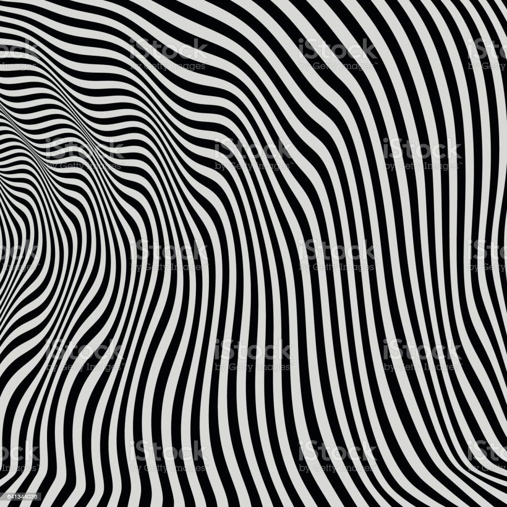 Black and White Background. vector art illustration