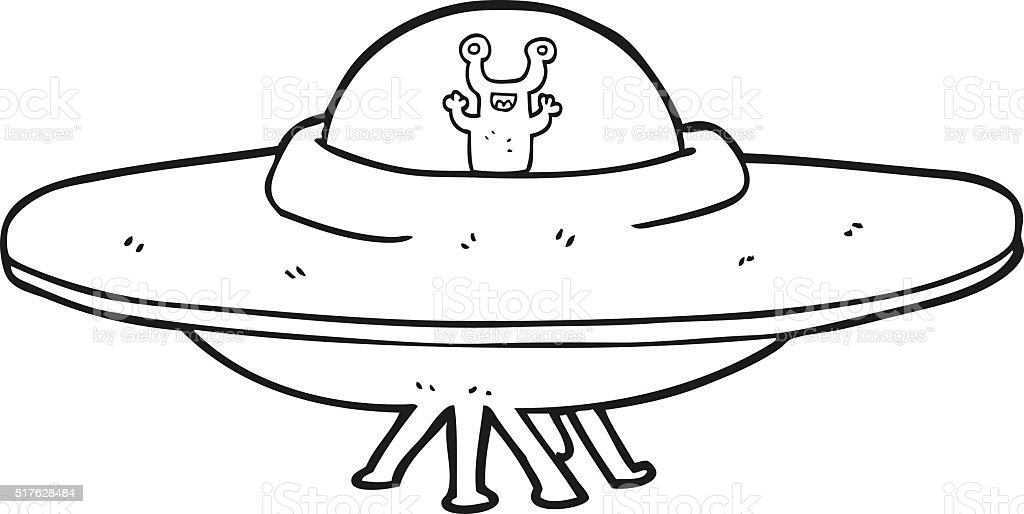 space ship clip art black and white - photo #20