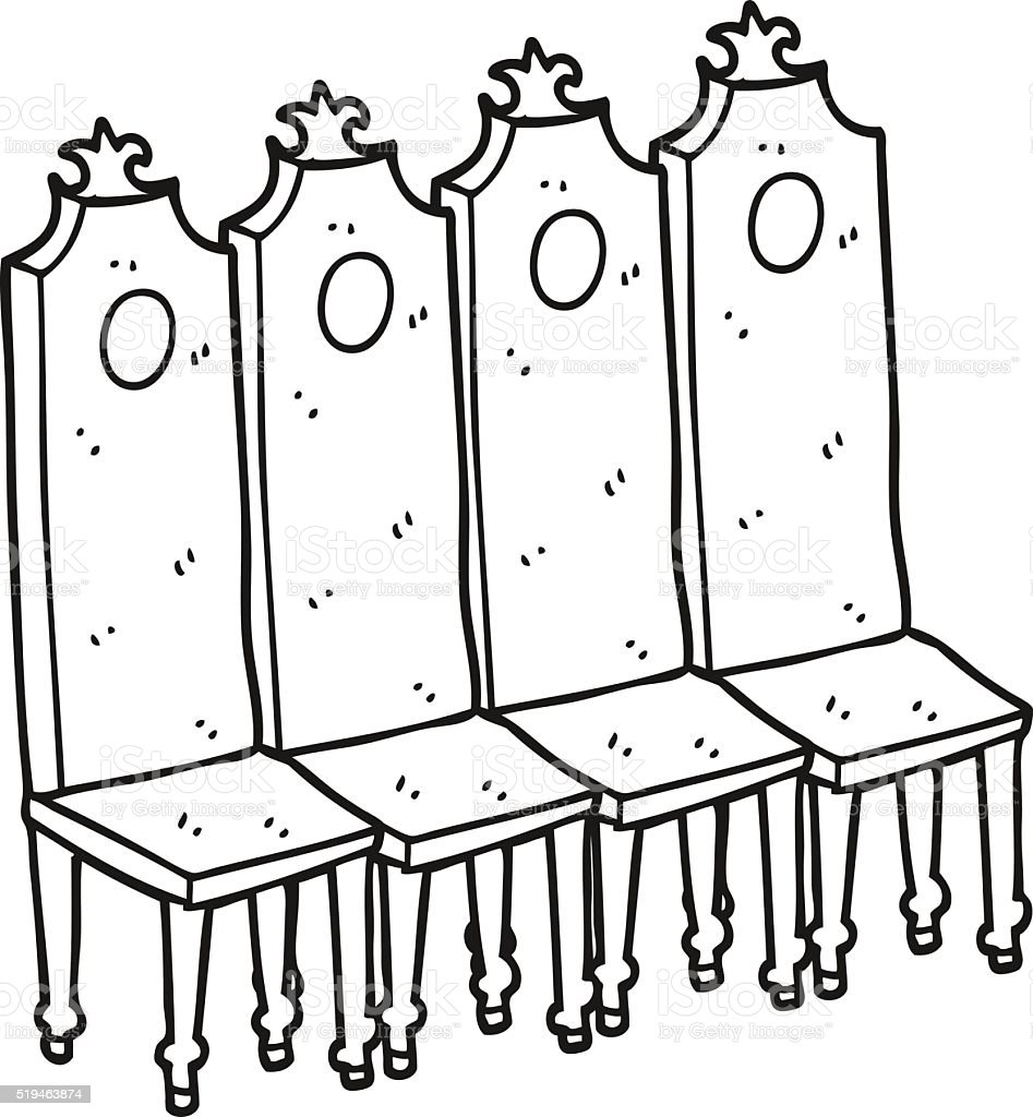 Black and white chair drawing - Black And White Cartoon Fancy Chairs Gm519463874 Jpg 400x432 Cartoon Black Chairs