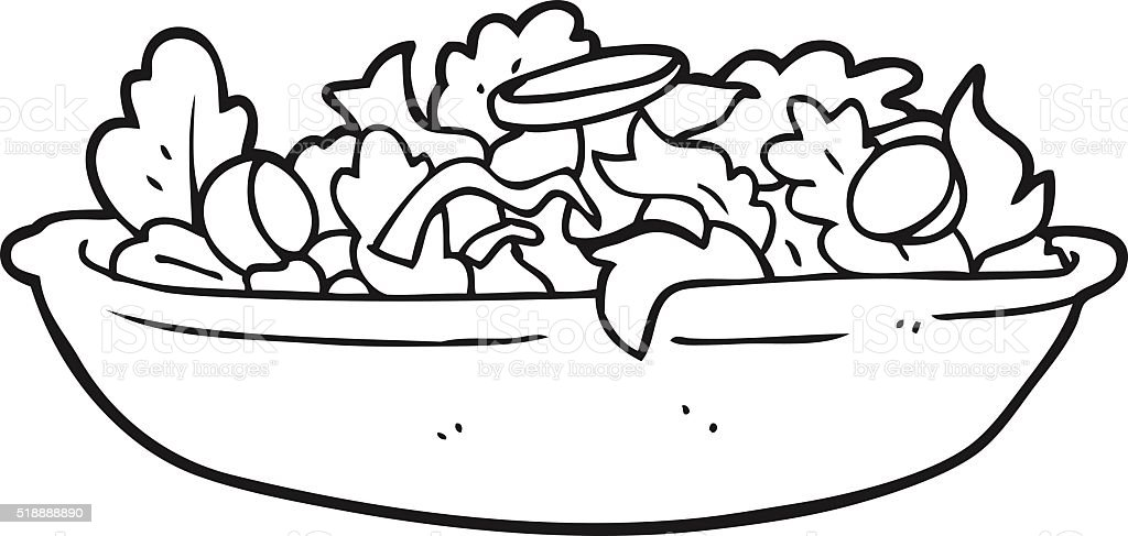 salad coloring pages - photo#31