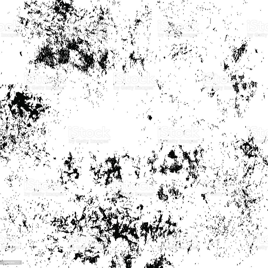 Black and white grunge texture vector art illustration