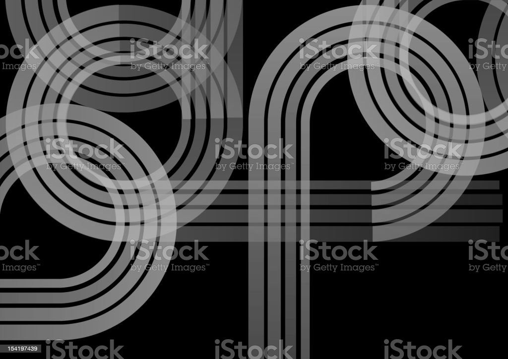 black and white path background royalty-free stock vector art