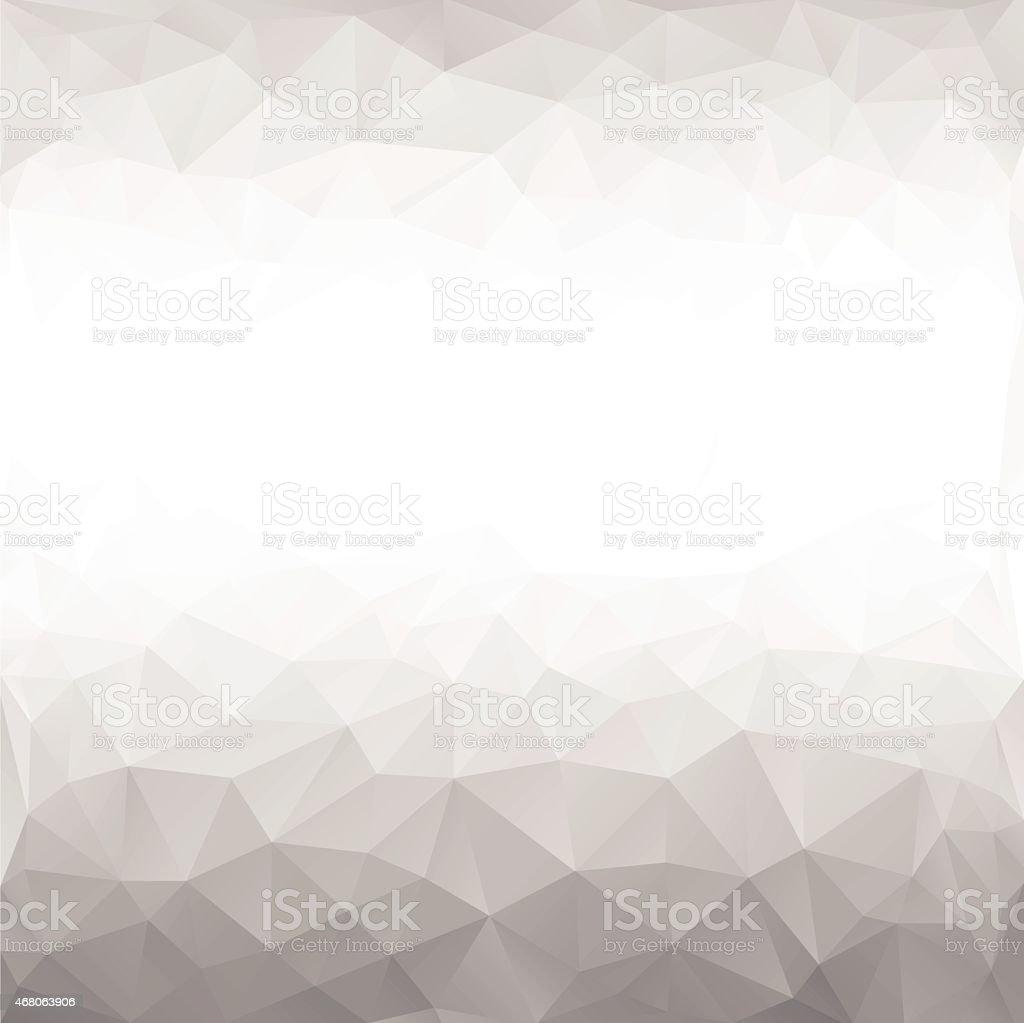 black and white polygonal background vector art illustration