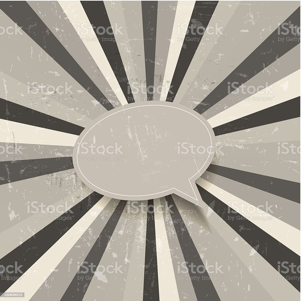 Black and white retro background royalty-free stock vector art