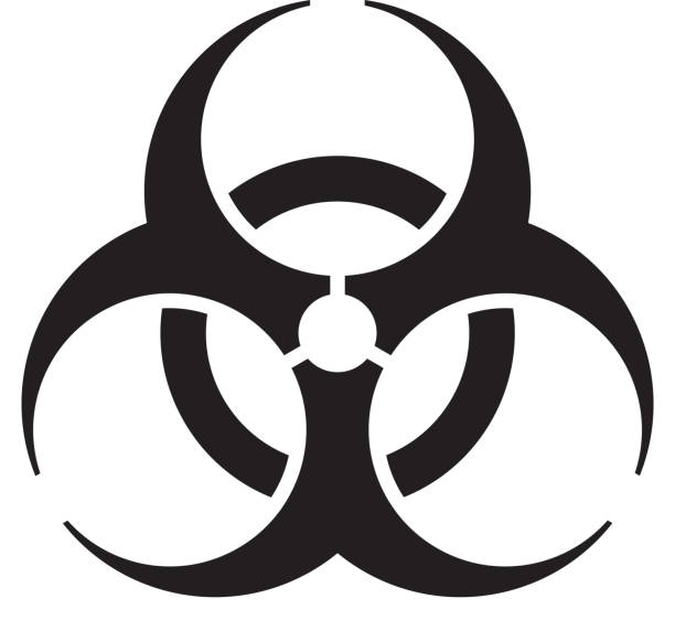 biohazard symbol black - photo #4